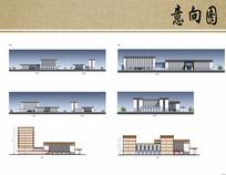 医院建筑立面方案