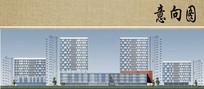 医院建筑设计立面图