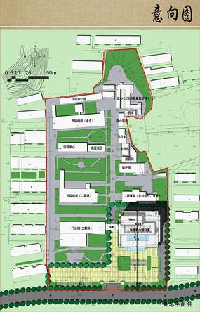 医院近期规划设计平面图