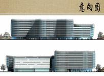 医院住院部立面方案