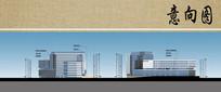 医院综合楼立面图