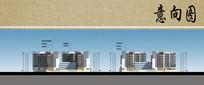 住院楼建筑立面图