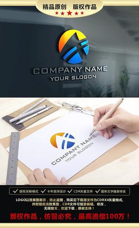 A字母LOGO设计标志设计