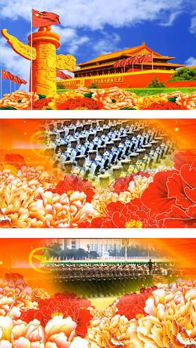 八一建军节ppt  钢铁之师建军节展板 威武雄师建军节展板 金色立体字图片