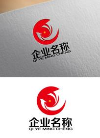 高端企业凤凰logo设计 AI