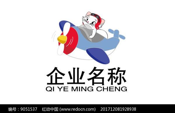 卡通猫企业文化logo 图片