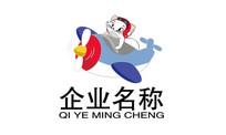 卡通猫企业文化logo