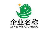 绿色房地产企业文化logo