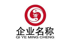 双龙戏珠企业文化logo