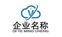 云服务公司文化logo  AI