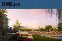 滨水景观设计效果图