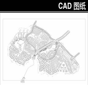 某风景区规划CAD平面图