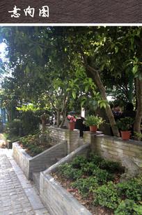 中式庭院景观 JPG