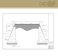 不锈钢花槽大样图 CAD