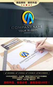 M字母创意LOGO设计 CDR