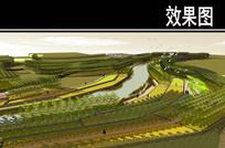 丹河两岸鹤翔琳台节点鸟瞰图