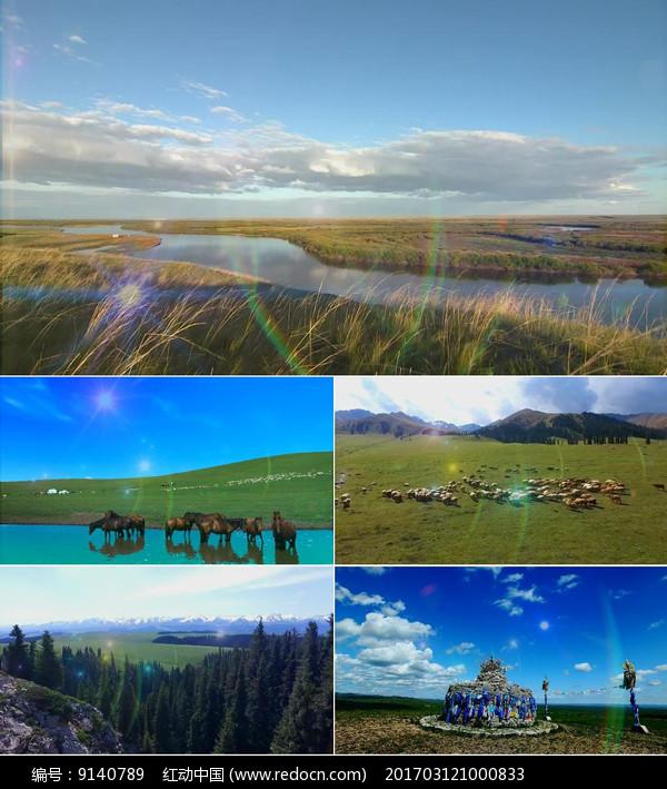 muqindesaobi_父亲的草原母亲的河背景视频