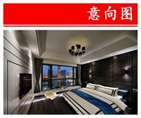 高品质滨水卧室 JPG