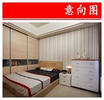 简单布置小卧室