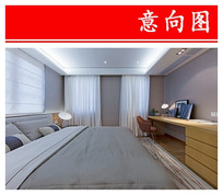 简约高端卧室