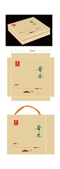 苦乐茶叶包装设计