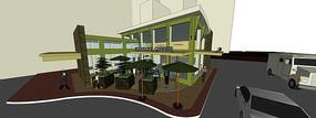 咖啡厅、咖啡馆建筑