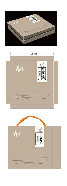 生态乔木茶叶包装