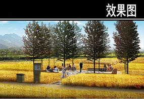 渭河景观田园风光区效果图三 JPG