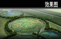 渭河景观重金属净化区效果图 JPG
