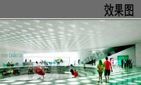 文化中心活动空间效果图
