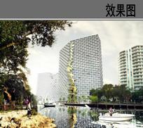 新颖住宅建筑设计效果图 JPG