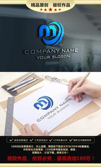 M字母LOGO设计