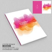 水墨企业宣传册封面