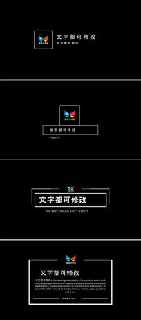 标题字幕文字动画ae模板