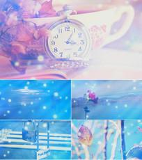 歌曲丫头舞台背景视频