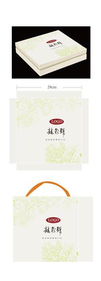 龙泉茶叶礼盒包装设计