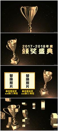 原创年会颁奖盛典片头AE模板