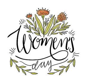 女人节英文字体设计