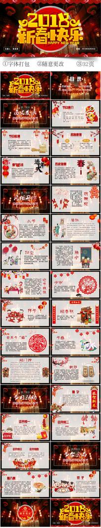 新年春节文化介绍PPT