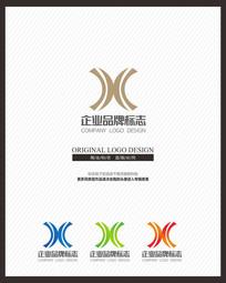 金融企业创意标志设计