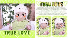 可爱儿童相册模板