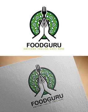 绿色食品logo设计