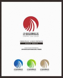 能源科技类创意标志设计 CDR