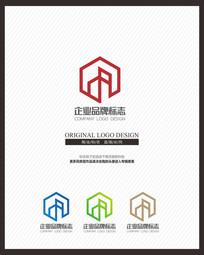 商业地产交易APP标志设计