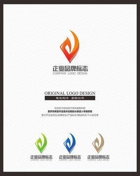 现代科技电子标志设计
