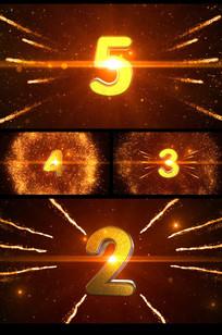 震撼大气粒子穿梭5秒倒计时