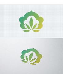 佛学瑜伽吉祥食绿色标志