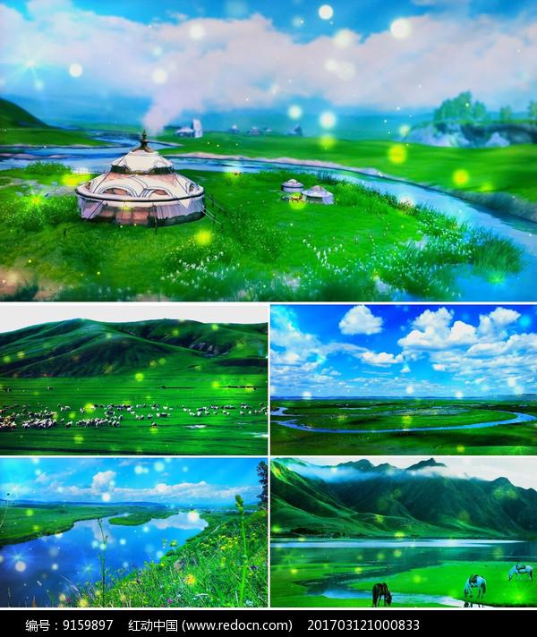 视频呼伦贝尔大草原教程背景qt歌曲视频图片