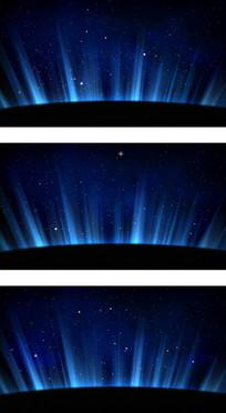 蓝色星空光波科技感高清背景视频 mp4
