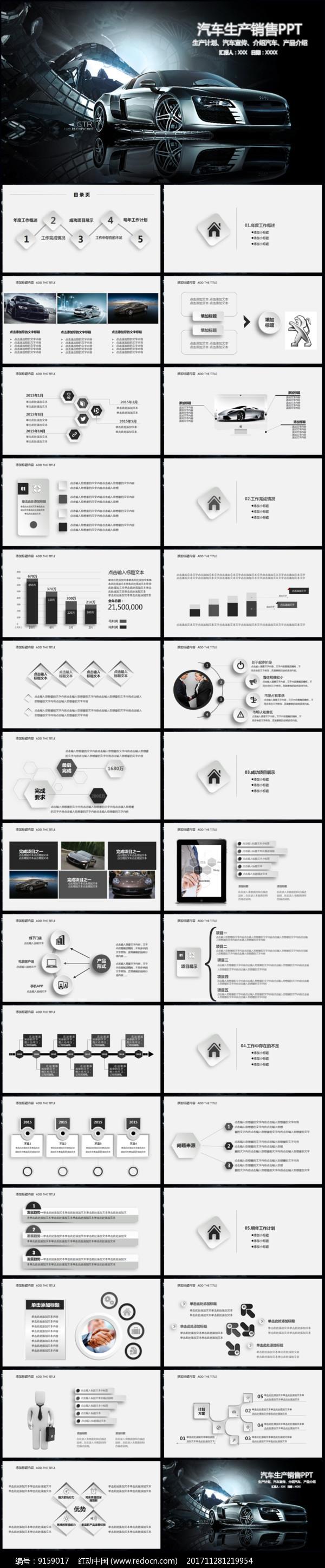 汽车行业PPT图片